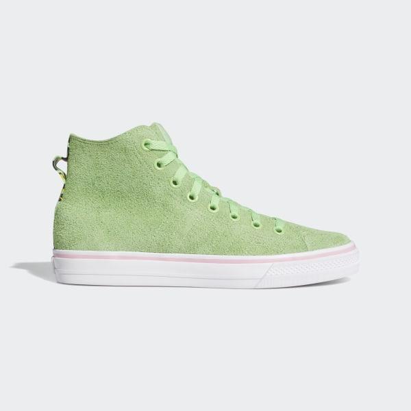adidas Nizza Hi RF Shoes Green | adidas US