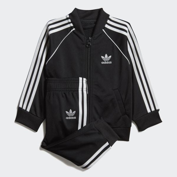 7bc8184eb4f adidas SST Track Suit - Black | adidas US