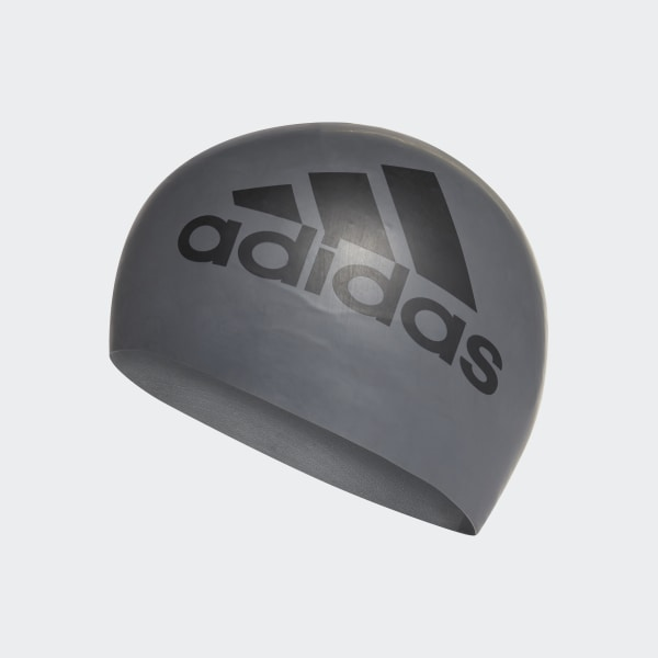 9d7280c89d5 adidas Σκουφάκι κολύμβησης από σιλικόνη με σχέδιο - Γκρι | adidas MLT