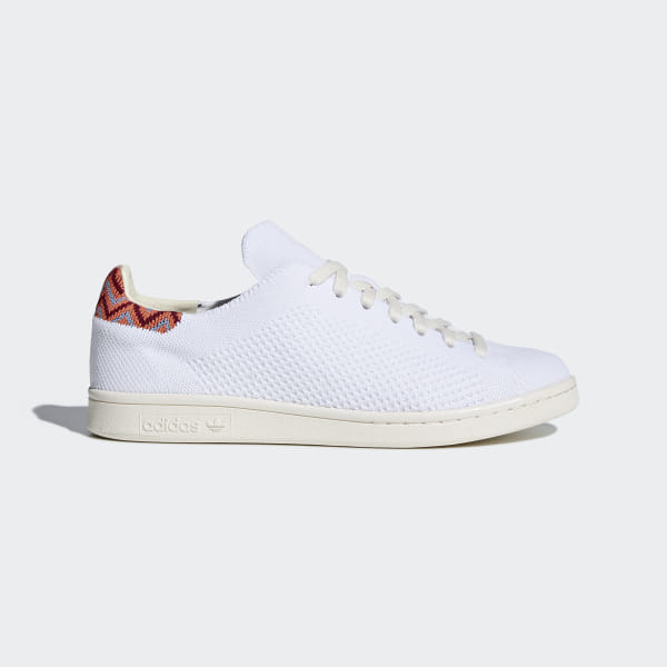 best website bfbd8 47df5 adidas Stan Smith Primeknit Shoes - White | adidas UK