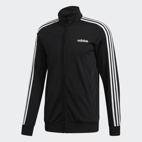 d1d472973bd2 adidas Essentials 3-Stripes Tricot Track Jacket - Black | adidas US