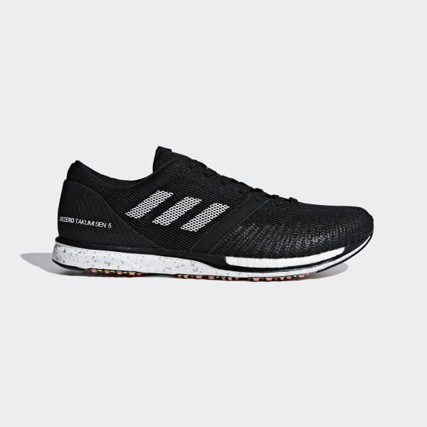 buy popular 7828e 43311 Chaussure Adizero Takumi Sen 5 Core Black   Ftwr White   Carbon B37419