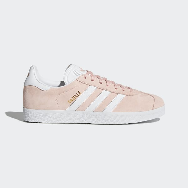 3a1a692093a Gazelle Shoes Vapor Pink / White / Gold Metallic BB5472