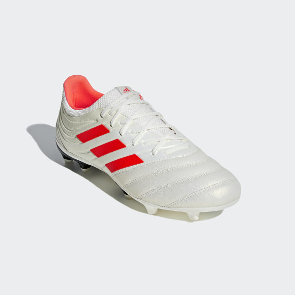 finest selection a7482 12340 Copa 19.3 Firm Ground Cleats Off White   Solar Red   Core Black BB9187