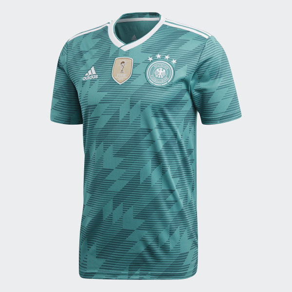 f2b2894ffac Germany Away Replica Jersey Eqt Green   White   Real Teal BR3144