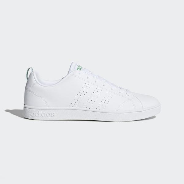 quality design 9f72a 74d90 Chaussure VS Advantage Clean White   Green   Green F99251