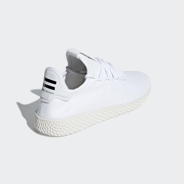 buy online ad573 035a2 Pharrell Williams Tennis Hu Shoes Cloud White   Cloud White   Chalk White  B41792