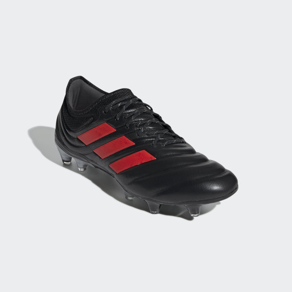 984dc8dc7 Copa 19.1 Firm Ground Boots Core Black   Hi-Res Red   Silver Met.