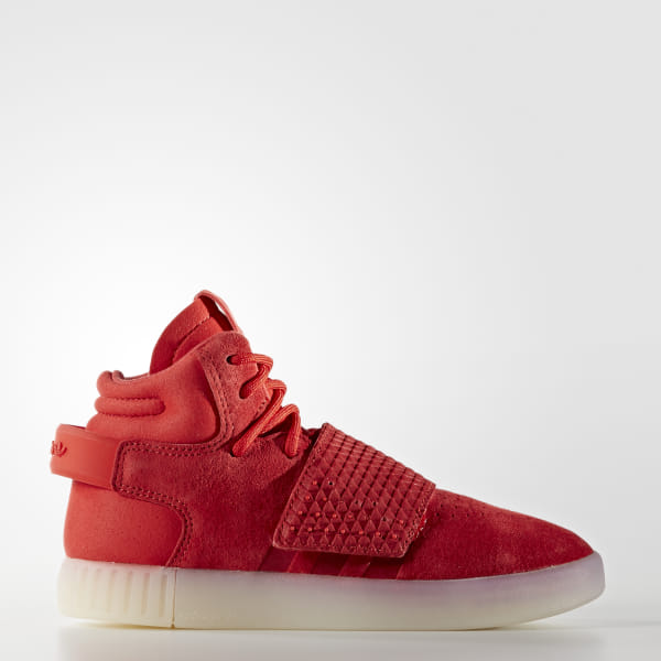 san francisco fbc64 c2aae adidas Tubular Invader Strap Shoes - Red | adidas Australia