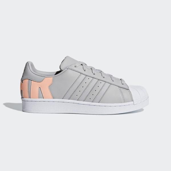 eea040225df Superstar Schoenen Grey Two / Grey Two / Clear Orange D96738