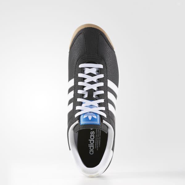 Women Platform adidas Originals Samoa Leather Core Black