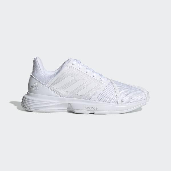 adidas CourtJam Bounce Schoenen - wit   adidas Belgium