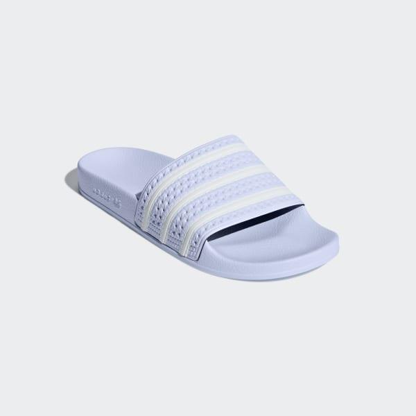 Adidas Originals Adilette Sandals Aero Blau Damen Top Adidas