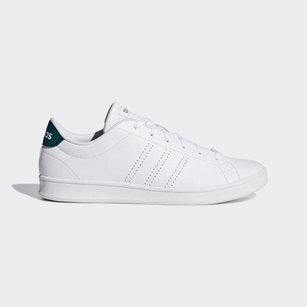 Baskets Advantage Languette Adidas Blanc Clean Femme Qt