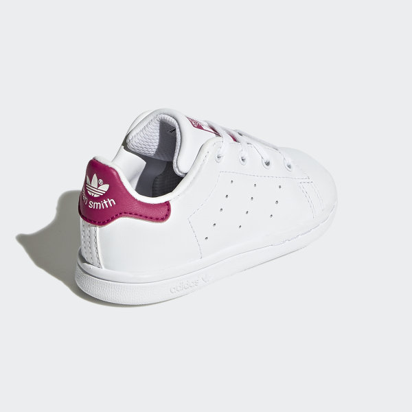 Adidas Stan Smith Infants/toddlers Shoes White/bold Pink Bb2999 High Quality Goods Baby Shoes