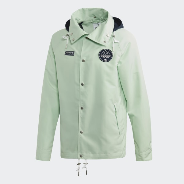 2fbb8a8d adidas Livesey Anorak - Green   adidas US