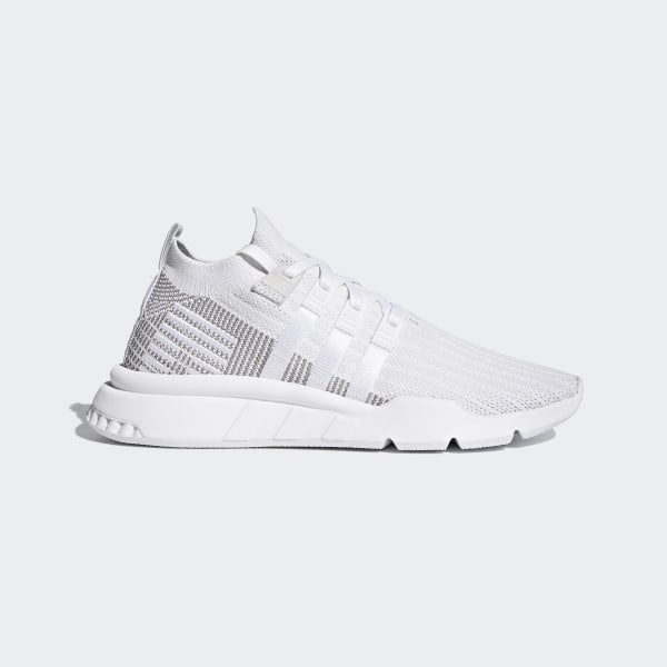 Details about adidas Originals EQT Support Adv Mid J White Knit Youth Trainers Shoes