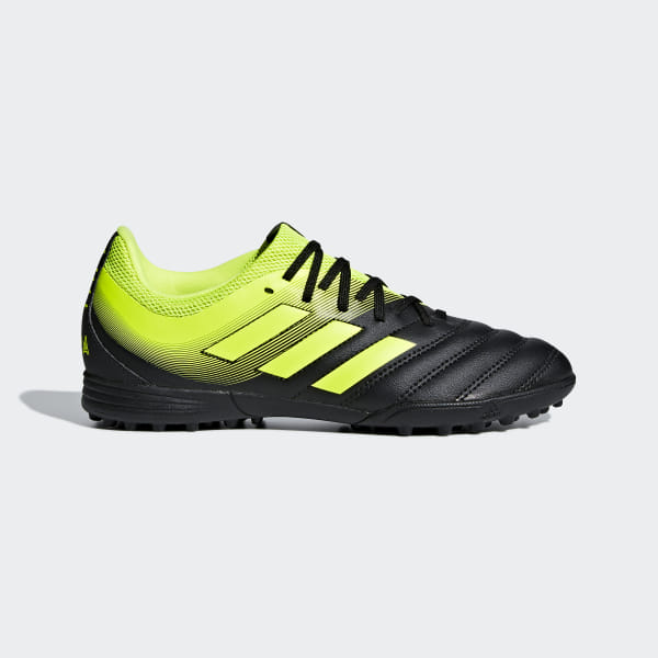 cdb20f643bdb Copa 19.3 Turf Shoes Core Black / Solar Yellow / Solar Yellow D98085