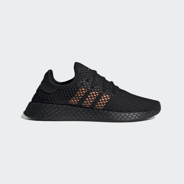 meilleur authentique 99a4e 1ecd7 adidas Deerupt Runner Shoes - Black | adidas Australia