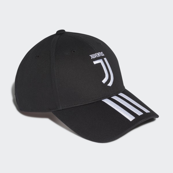 6f4262f2d adidas Juventus 3-Stripes Cap - Black | adidas Finland