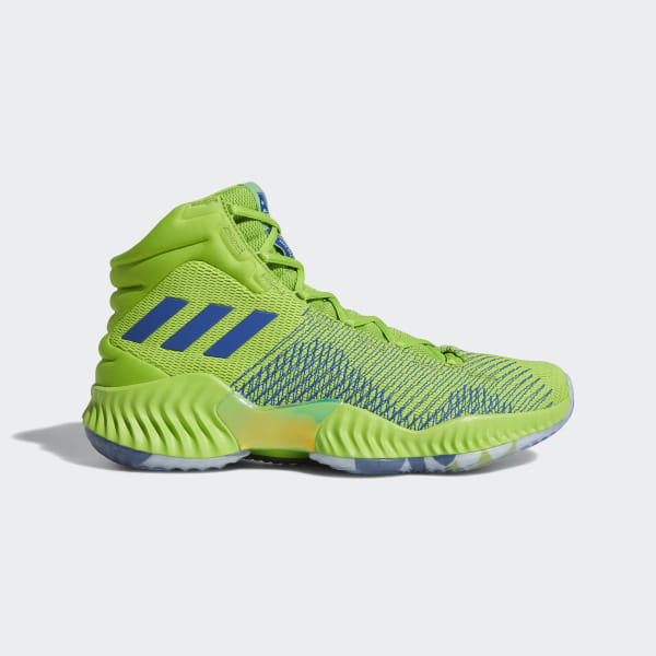 adidas Pro Bounce 2018 Player Edition Shoes - Green | adidas Canada