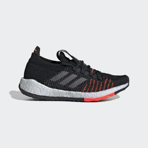 0d6b5a7e Pulseboost HD Shoes Core Black / Grey Five / Solar Red EE4030