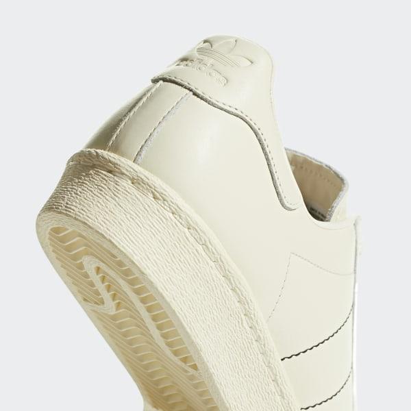 adidas SUPERSTAR 80s Adidas superstar 80s CREAM WHITECREAM WHITECREAM WHITE b38000