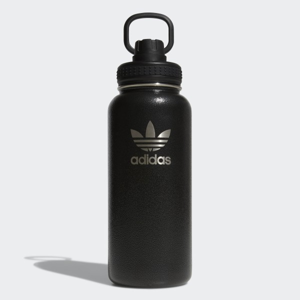 70f31e33 adidas 32 oz. Stainless Steel Water Bottle - Black   adidas US
