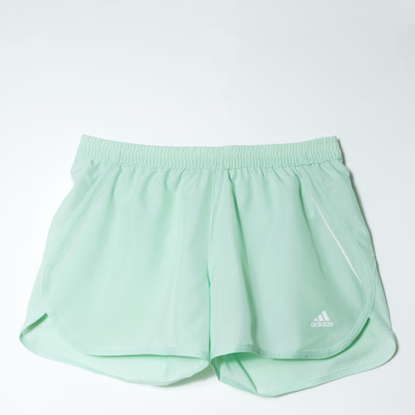 e1a59974a3e3 adidas Shorts para Running Sequencials ClimaCool Mujer - Verde | adidas  Colombia