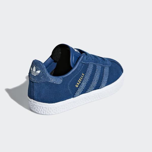 plus de photos 79603 8ee2f adidas Gazelle Shoes - Blue | adidas UK