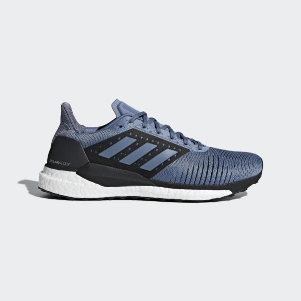 best sneakers 5e2f6 b5ec1 Solar Glide ST Shoes Raw Steel   Raw Steel   Hi-Res Aqua CM8048