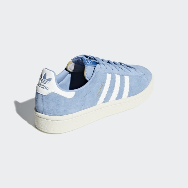detailed pictures 3caf2 9e1c5 Campus Shoes Ash Blue   Running White   Cream White B37936
