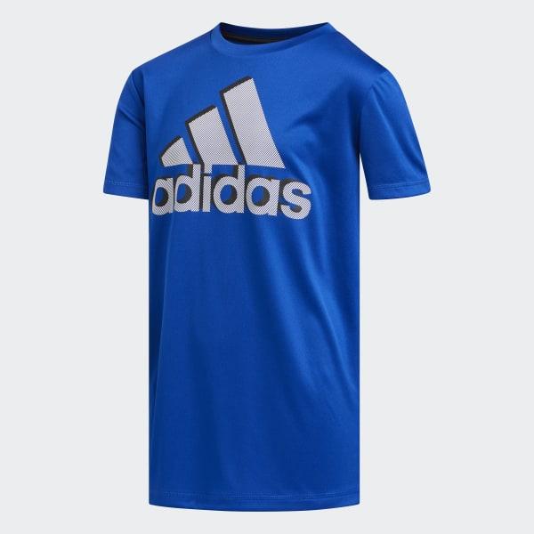 4c7fbf7e7c adidas Shadow Badge of Sport Tee - Blue   adidas US