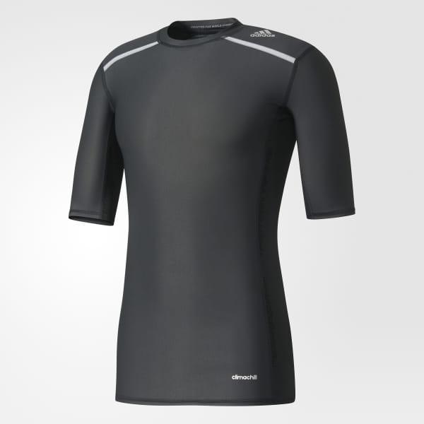 edf769ea Camiseta Manga Curta Techfit Chill - Preto adidas   adidas Brasil