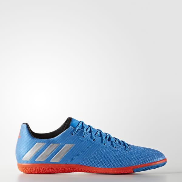 6b944233f4d adidas Men s Messi 16.3 Indoor Shoes - Blue