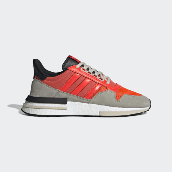 baskets pour pas cher a2ad6 f9a2b adidas ZX 500 RM Shoes - Orange | adidas UK