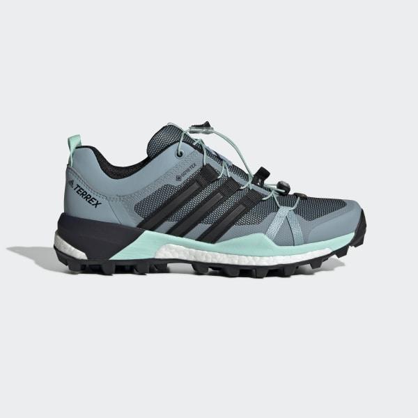 hot sale online 1d7ba ebf55 Terrex Skychaser GTX Shoes Ash Grey   Core Black   Clear Mint F35743