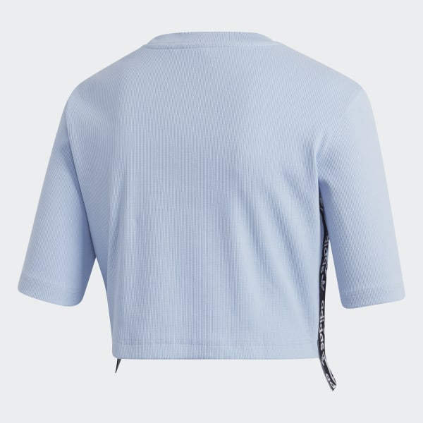 46e57f701fb adidas Cropped Tee - Blue   adidas US
