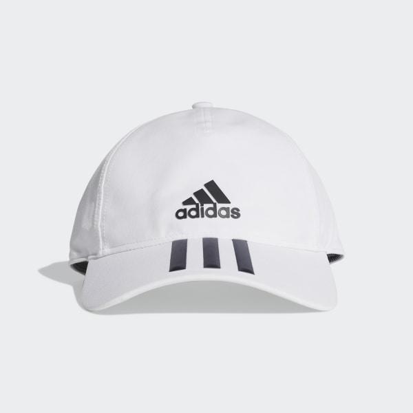 576f1c3c90904 C40 3-Stripes Climalite Cap white   black DT8544