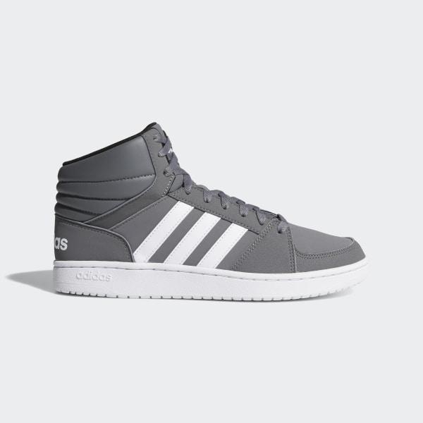 4da235c2b92 VS Hoops Mid Shoes Grey Four / Cloud White / Grey Three B74285