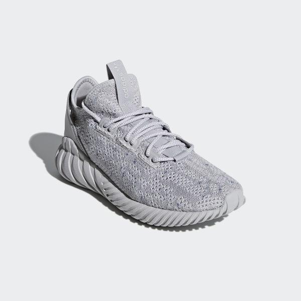 897b72a056bf adidas Tubular Doom Sock Primeknit Shoes - Grey   adidas US