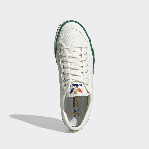 adidas Nizza Pride Shoes - White | adidas US