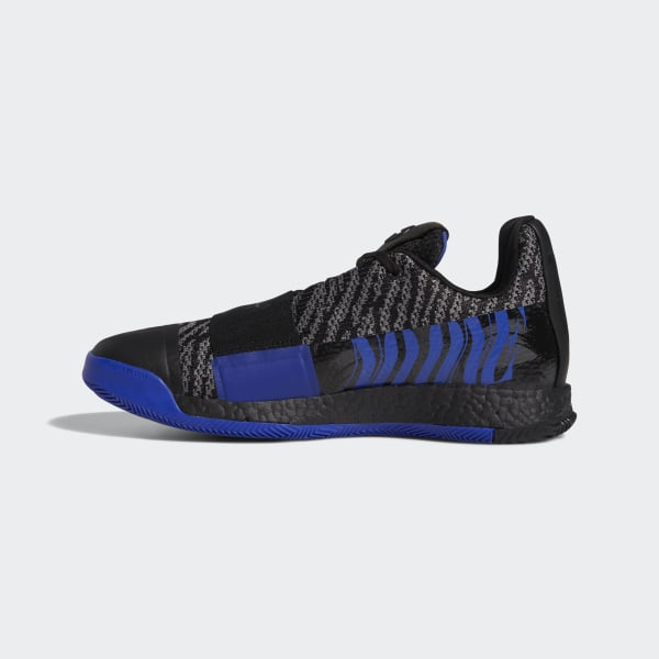 detailed pictures a8d40 53297 Chaussure Harden Vol. 3 Core Black   Active Blue   Dgh Solid Grey G26811