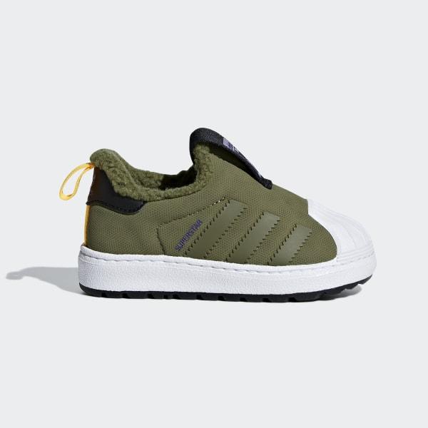 size 40 29448 a8a5d adidas Superstar Winter 360 Shoes - Green | adidas US