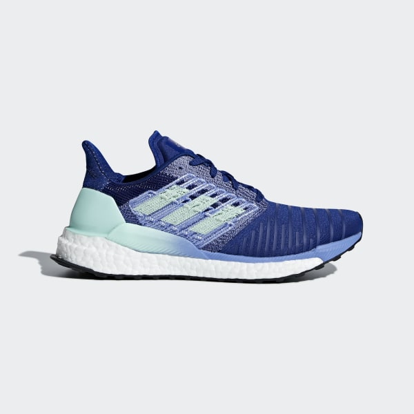 new concept f5a98 e5dfc Chaussure SolarBoost Mystery Ink   Clear Mint   Real Lilac BB6602