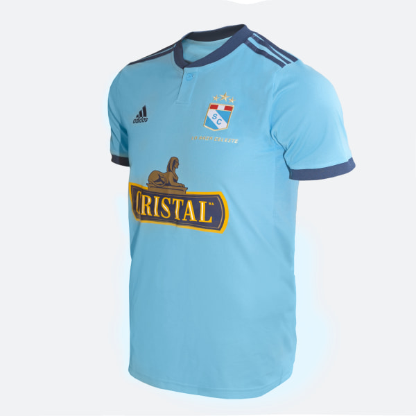 b837829f35 Camiseta de Local Sporting Cristal 2019 bright cyan / night marine CM1680