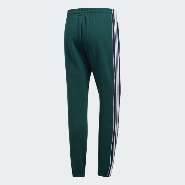 adidas Originals Pantalon de survêtement 3 Stripes green