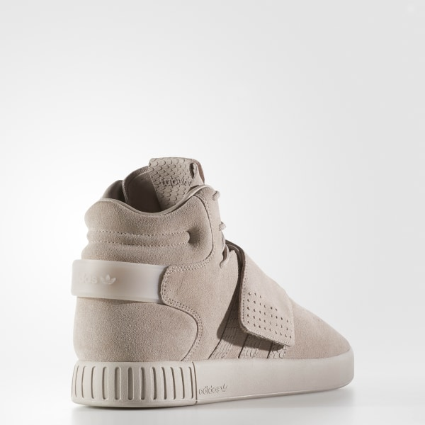 new concept deb19 556c2 Tubular Invader Strap Shoes Grey   Grey   Cloud White BY3633