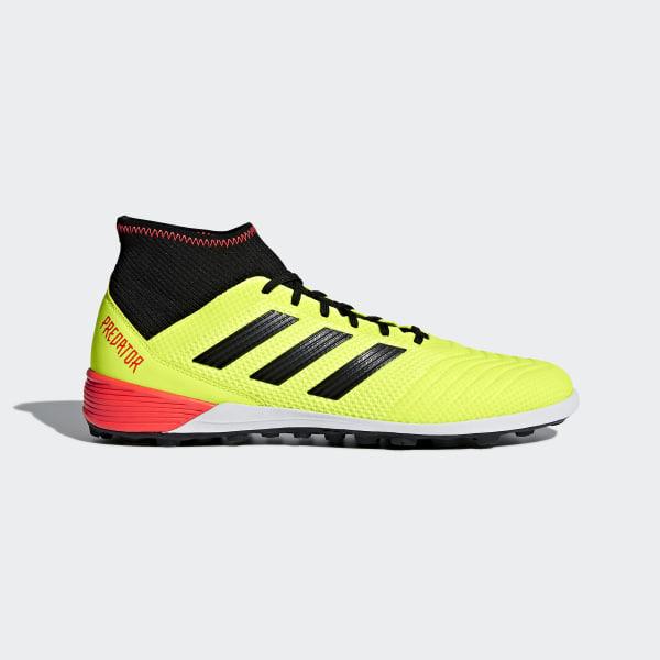 06bdeea56c2 Predator Tango 18.3 Turf Boots Solar Yellow / Core Black / Solar Red DB2134
