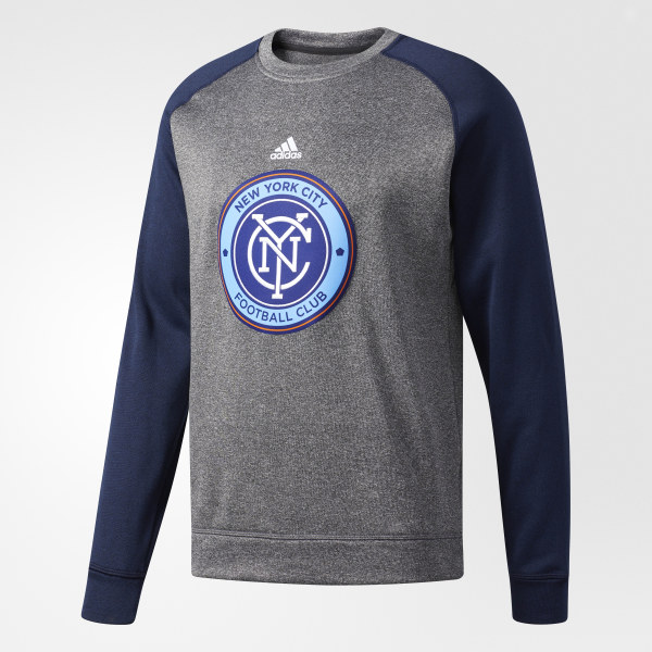 435d5c4d0d adidas New York City FC Ultimate Crew Sweatshirt - Multicolor | adidas US